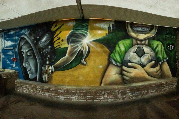 El grafiti del CIF