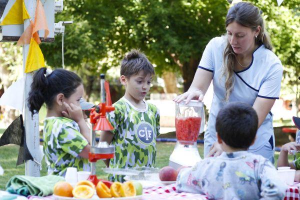 Fomentar el consumo de frutas, a través del juego